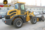 Compact Chinese Wheel Loader 2 Ton Wolf Loader Zl20 for Knows them