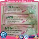 Pluma de diagnóstico de la prueba del centro de la corriente del embarazo HCG