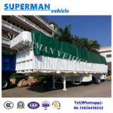 Venda a quente 70t Utility Storehouse veículo de transporte de carga semi reboque