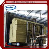 印刷されたアルミホイルが付いているFiireproofingの熱インシュレーション・ボード80%の玄武岩の岩綿