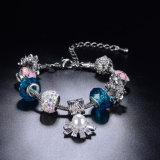 O melhor presente para o bracelete Handmade do bracelete frisado encantador do encanto da menina
