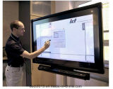 Strumentazione diritta dell'aeroporto dello schermo del pavimento dell'interno di Remoto di controllo di 55 pollici che fa pubblicità alla visualizzazione di tocco /Kiosk /LCD