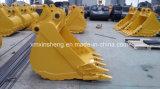 Cubeta de escavação da rocha da fábrica de China para a máquina escavadora de Hyundai R210