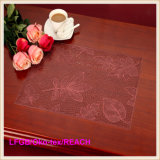 Pvc Pressed en Cutout Placemat (jfcd-010)
