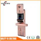O sistema biométrico do fechamento de porta da alta segurança com software livra