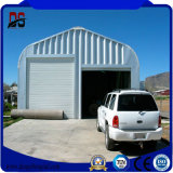 Легкие структуры гаража большой пяди установки полуфабрикат стальные