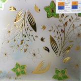 가정 벽 4mm 황금 장식적인 유리