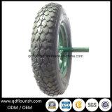 Carretilla de mano de caucho de neumático de aire inflables Carrito de la rueda de la cesta