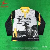 Healong Haut de la vente de vêtements de sport impression en sublimation Polo Shirt personnalisé