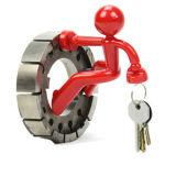 Магнитный ключ крюк Man магнита