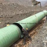 O tubo de esgoto de PRFV GRP tubo tubo de gases de águas residuais