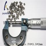 Ck-227 Imanes de ferrita de sinterizado F4*3.5*2mm
