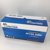 N120 12V 120ah優秀なパフォーマンスMfの鉛の酸のトラックか車または自動電池(115F51 SMF)
