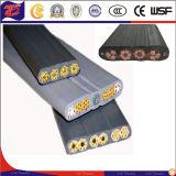 Laufkatze-Bewegungs-Stromversorgungen-Flachkabel-System