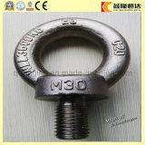 Tornillos de ojo del acero de carbón DIN580 con buena calidad