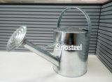 5L de gegalvaniseerde Gieter van het Metaal van het Zink voor Tuin, het Water geven van het Metaal Pot