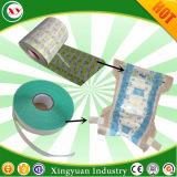 中国の製造者のおむつの原料のNonwovenホックの側面テープ