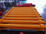 Cilindro hidráulico ativo dobro para o caminhão de Tipper dos tratores
