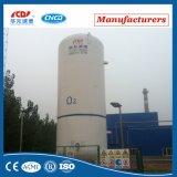 réservoir de stockage de liquide cryogénique de la pression d'utilisation 1.6MPa Lar/Ln2/Lo2