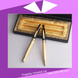 Rose Golden Plating Pen in Set (Gel Feder und Ball Feder) Kp-035