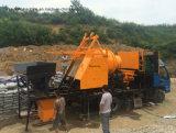 Bomba de concreto diesel montada no caminhão
