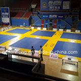 Stuoia all'ingrosso del pavimento di judo della stuoia del rullo di puzzle del puzzle di srotolamento di Flexi della fabbrica