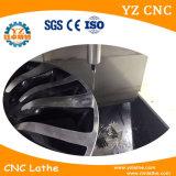 Máquina del torno del CNC de la reparación de la rueda de la aleación del corte del diamante de Wrc28V