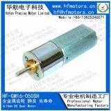 16mm du moteur à engrenages à couple élevé de précision des performances stables pour le Bureau de l'équipement automatique16-050GM sh