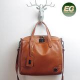 La conception classique femme sacs fourre-tout véritable Lady Sacs épaule fille des sacs de magasinage de la Chine Emg5239 en usine