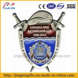 2016 alta calidad de la insignia del metal promocional