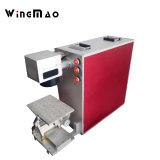 Машина маркировки лазера волокна поставщика 20W 30W Китая на нержавеющей стали металла