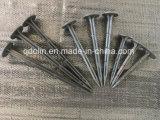 Cavilhas de plástico para fixação de tecidos de paisagem tapetes de ervas daninhas, Tapetes de cobertura morta do Solo