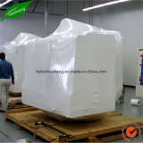 O envoltório branco do Shrink do PE da cor para protege carros dos barcos das páletes