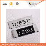 서비스 꼬리표에 의하여 길쌈된 입는 스티커 레이블을 인쇄하는 인쇄한 의복을 주문을 받아서 만드십시오