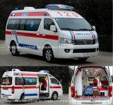 Iso, automobile dell'ospedale dell'ambulanza del pronto soccorso di Foton di approvazione del CE (BJ6549B1)