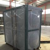 Tanque de armazenamento de combate ao fogo portátil da água com o painel do aço inoxidável