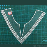 La broderie de la Dentelle au crochet de coton Collier Collier accessoires du vêtement Textile tissu
