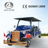 Motorino di Seater del telaio di alluminio approvato 8 di alta qualità 48V/5kw del Ce retro