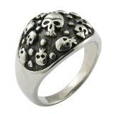 El metal caliente mujer Skull Ring