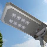 Personalizar calle la luz solar, todo en uno de 65 vatios, la luz solar calle 48 80W de luz LED de alta