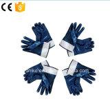 Джерси гильзы с синими нитриловые перчатки