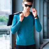 2018 Новая V шеи пружина/падения свитер Pullover красочные длинными рукавами