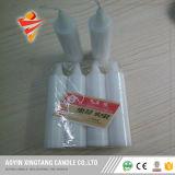 vela blanca de la iluminación diaria 20g para la decoración del hogar