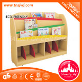 CE Certificated Wooden Book Shelf Used Library Bookcases pour Kindergarten