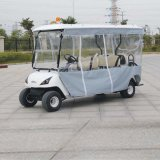 Ce Certificated 4 Seat Electric Four Wheel Cart para o campo de golfe Dg-C4