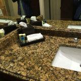 Giallo Veneziano Fiorito Granite Vanity Tops