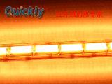 Solo de onda corta de tubo de cerámica blanca del calentador de infrarrojos lámpara de calor por infrarrojos