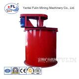 A lixiviação de agitação de mistura mineral de mineração do agitador do tanque