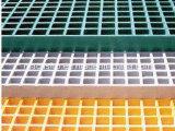 25.4mm高力防蝕の深いX38.1mmの正方形の網のFiberglass/FRPによって形成される格子