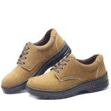 La construcción de cuero gamuza Venta caliente Zapatos de seguridad